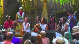 Jaya Lakshmi & Ananda, Altar of Love, Front Porch Stage, Country Fair 2013