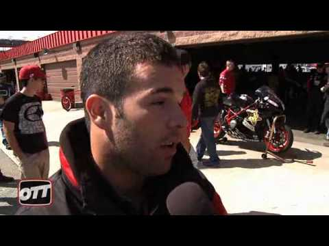 Bobby Fong Raced Ducati 848 With Leo Vince Race Exhaust