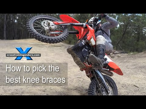 HOW TO CHOOSE THE BEST KNEE BRACES! enduro & motocross riders