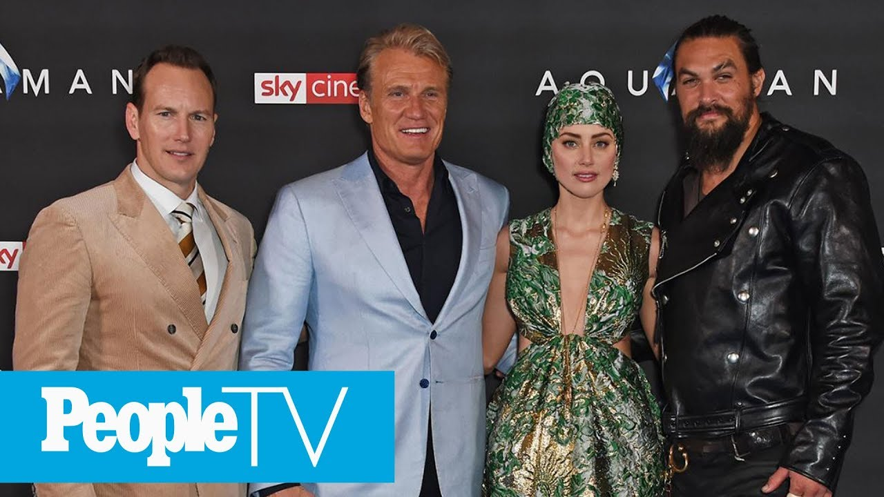 Find Out How The 'Aquaman' Cast Achieved The Films Underwater Fight Scenes | PeopleTV