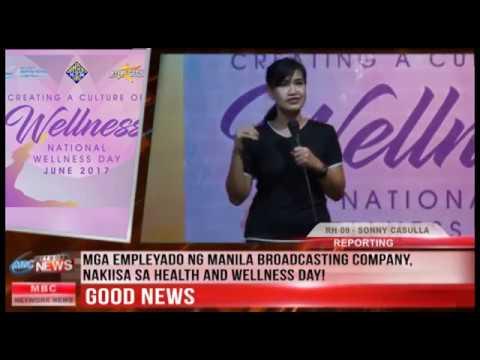 GOOD NEWS: MGA EMPLEYADO NG MANILA BROADCASTING COMPANY, NAKIISA SA HEALTH AND WELLNESS DAY!