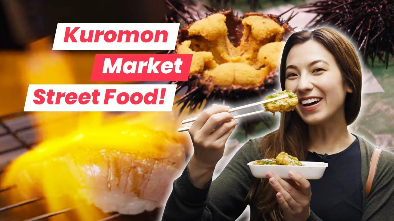 What Sea Urchin is REALLY Supposed to Taste Like | Osaka Kuromon Market Tour