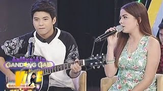 "Nash, Alexa sing ""Thinking Out Loud"" on GGV"