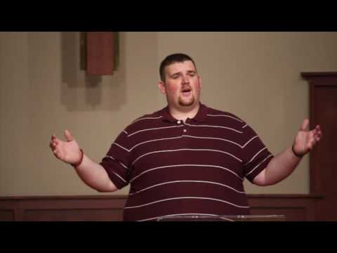 Love My Enemies Preached 8/21/2016 by  Pastoral Intern Chris Anderson