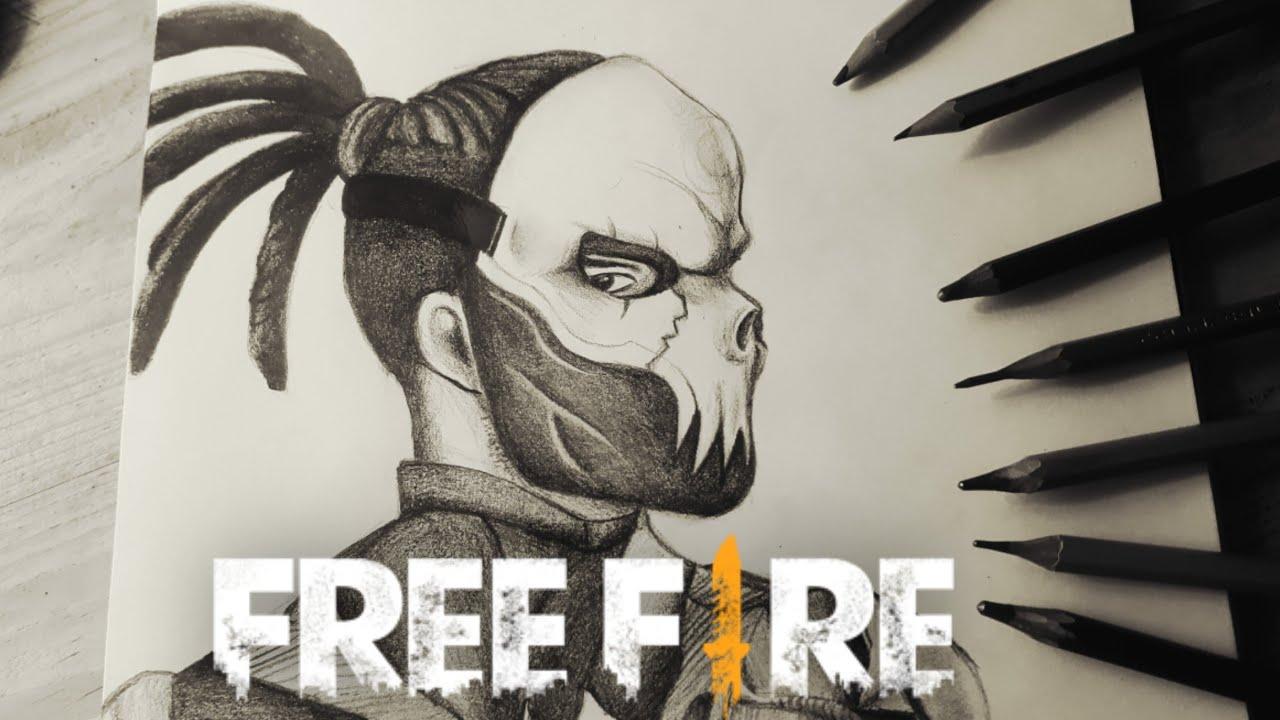 Personajes Dibujo De Free Fire Para Colorear