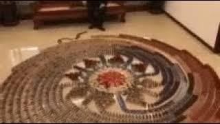 Интересные композиции из домино