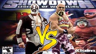 Showdown Legends Of Wrestling Mil Mascaras vs Billy Graham
