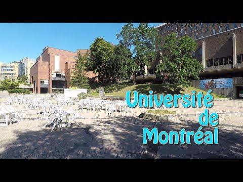 Vivre au Canada : l'université de Montréal