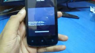 Hard Reset And Patern Lock Lenovo A390 Eazy Youtube