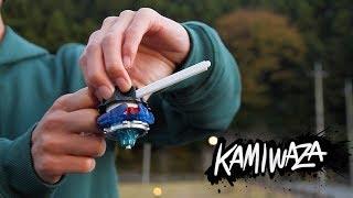 BEYBLADE Trick Shots | KAMIWAZA