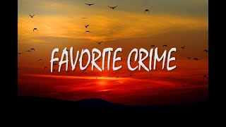 Olivia Rodrigo - favorite crime (Lyrics)