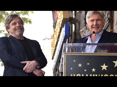 Harrison Ford Remembers Carrie Fisher at Mark Hamill's Walk of Fame Ceremony