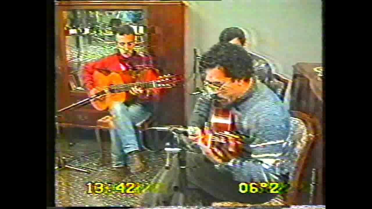 HOMENAJE A OBDULIO VARELA En su casa junto a las Guitarras de