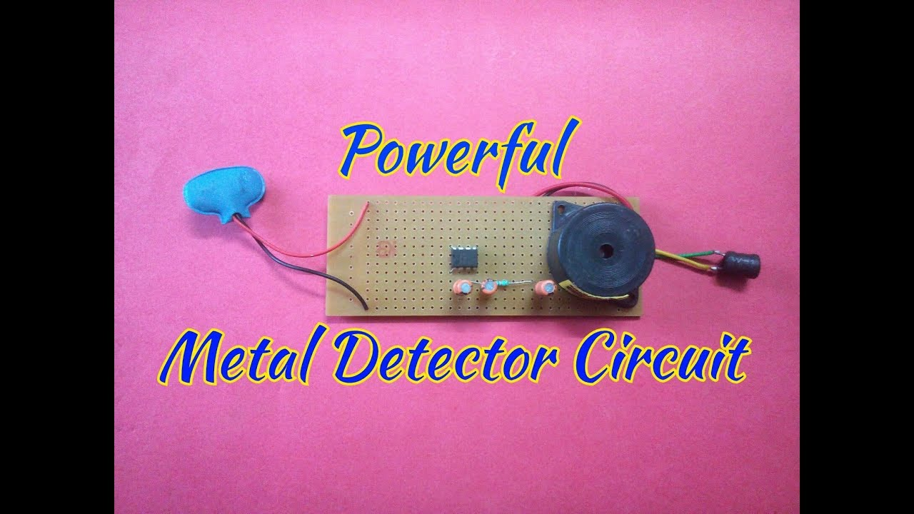 Make A Simple Metal Detector At Home Youtube Circuits For Kids To Hqdefaultjpg