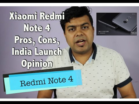 Hindi   Xiaomi Redmi Note 4 Pros, Cons, Expected India Launch, Price, Not A Review   Gadgets To Use