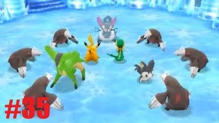 Pokemon MD: Gates To Infinity Walkthrough 35 - Glacier Palace: Eastern Spire