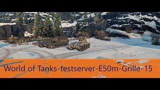 (Ger)World Of Tanks-Testserver #1 E50m-Grille-15
