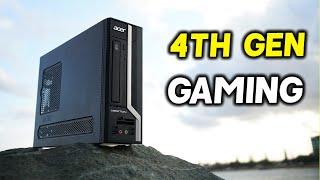 How I CONVERTED a Proprietary X4630G Acer VERITON into a Budget GAMING PC!