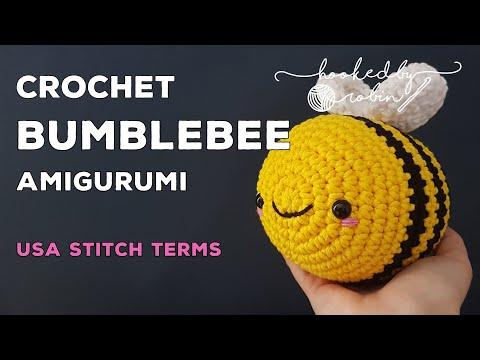 Amigurumi Bumblebee | How to crochet tutorial | Easy beginners video | Crochet Bee