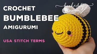 Amigurumi Bumblebee | H๐w to crochet tutorial | Easy beginners video | Crochet Bee