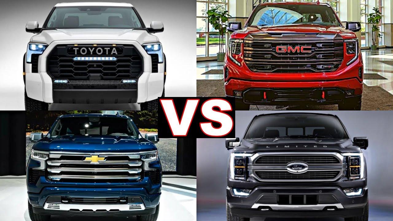 Top 5 most luxurious pick up trucks (The Big 5) 2022 toyota tundra, 2022 gmc sierra, 2022 ram 1500!