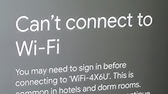 Fix Chromecast Can't Connect to Wifi