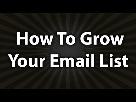 How To Build Your Email List for Marketing and Sales with Roy Furr