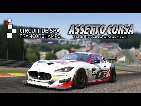 Assetto Corsa   Red Pack   Maserati GranTurismo MC GT4 @ Spa Francorchamps  