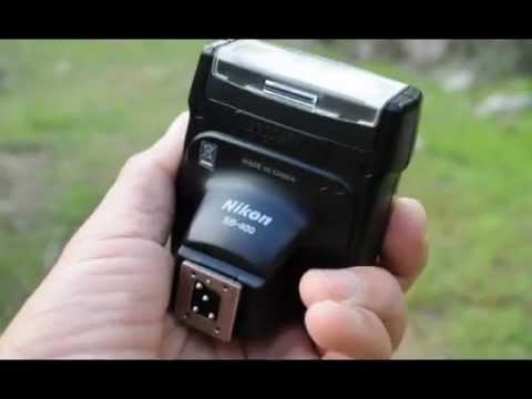 how to turn a nikon sb 400 into a manual flash youtube rh youtube com Nikon Flash nikon sb 400 guide number