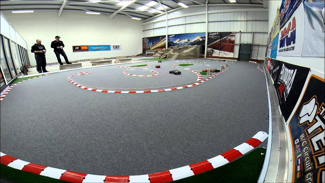 how to build an indoor rc track