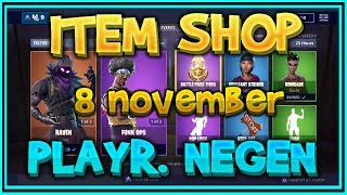 Fortnite ITEM SHOP from November 8th (all skins, all gliders, all emotes and all axes) – Playr NINE