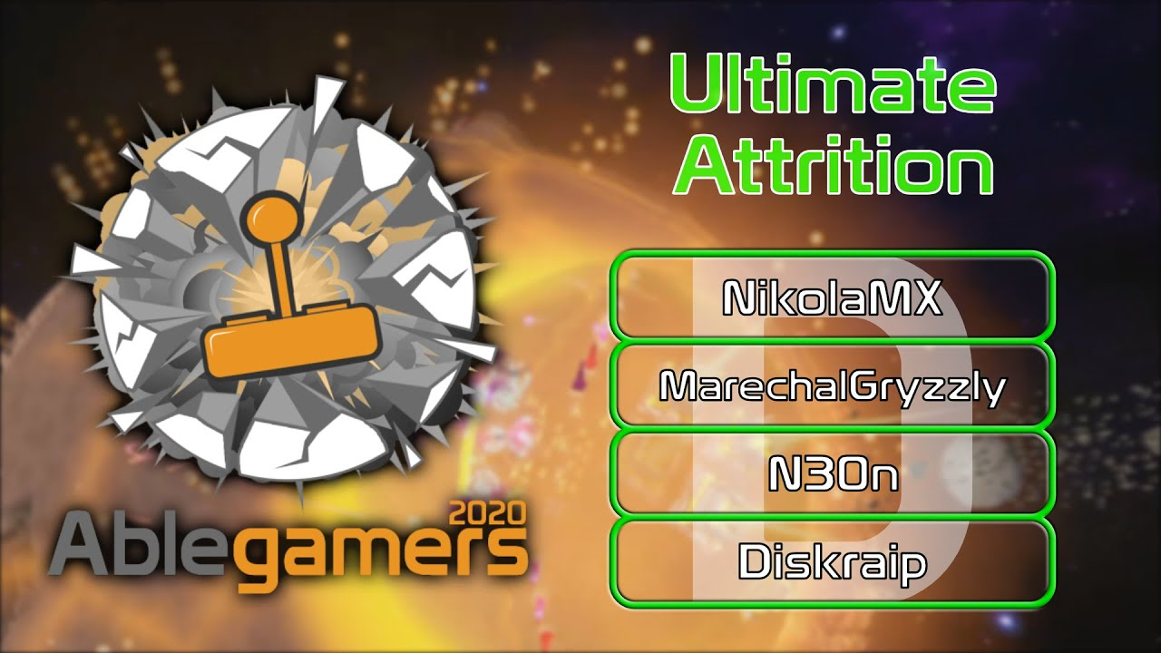 [EPIC Orbital Longhaul] Ultimate Attrition | Ablegamers 2020 | Free For All | Game 4 | PA547