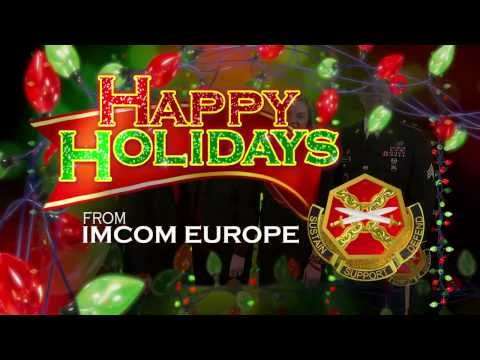 Happy Holidays from Installation Management Command Europe