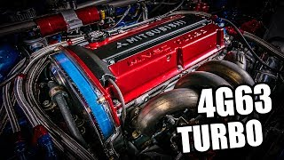 25 MEAN Mitsubishi 4G63 Turbos