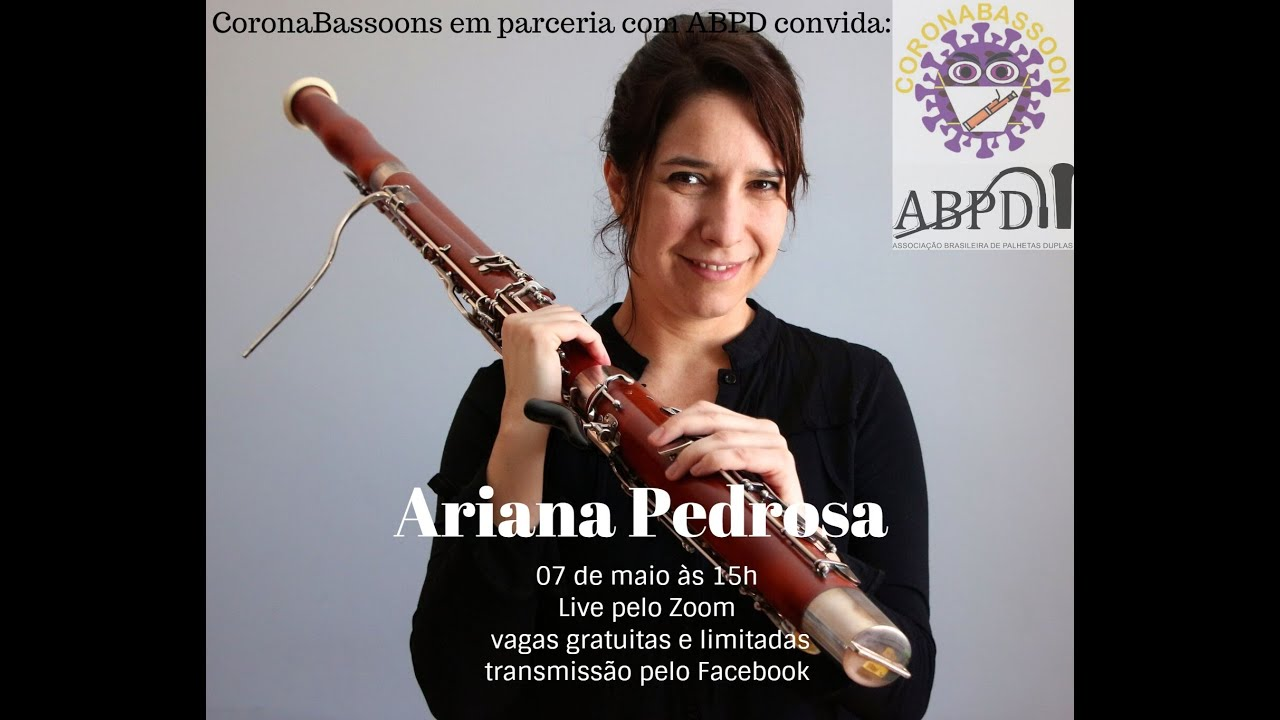 Live com a professora Ariana Pedrosa