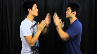 How-to be gangster handshake SLOW