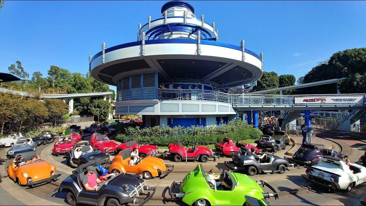 4K] Autopia - Disneyland Resort - YouTube