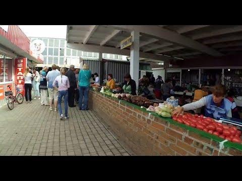 Market in Myrhorod (Ukraine) / Базар у Миргороді (Україна)