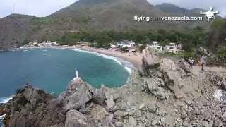Chichiriviche de la Costa desde un Drone