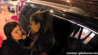 Ariana Grande Hugs a Crying Young Girl