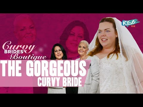 Will Lauren Find The Perfect Wedding Dress? | Curvy Brides Boutique @10pm On TLC
