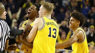 Michigan's Charles Matthews reacts to buzzer-beater against Minnesota.mp3