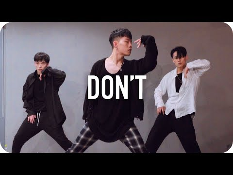 Don't - Ed Sheeran / Jinwoo Yoon Choreography