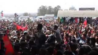 Fans Singing & Dancing to welcome Nepalese Cricket Team in their Arrival