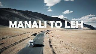 MANALI TO LEH | Rohtang | Jispa | Leh Ladakh Part 2 | Himalayas | Ankit Bhatia