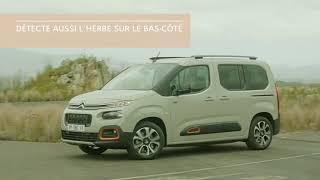 Nouveau Citroën Berlingo : Alerte de franchissement involontaire de ligne