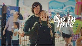 Adam and Jessa   So in love