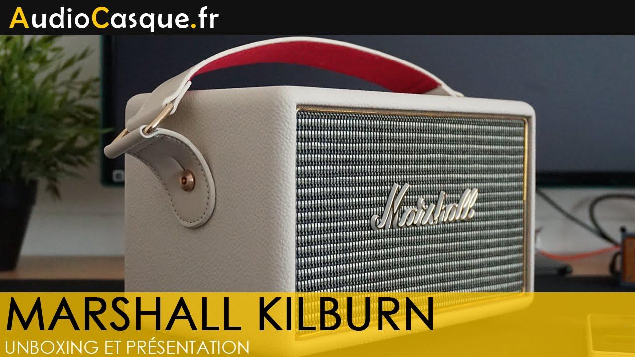 marshall kilburn unboxing et pr sentation fr youtube. Black Bedroom Furniture Sets. Home Design Ideas