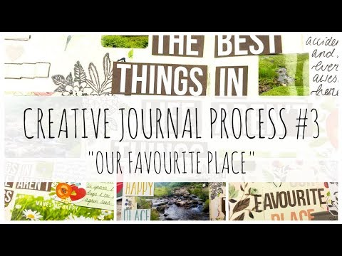 CREATIVE JOURNAL / TRAVELER'S NOTEBOOK PROCESS | 3 | 'Our Favourite Place' | ms.paperlover