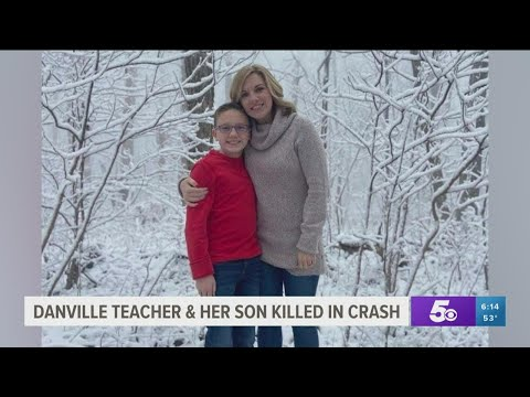 Danville school teacher and son die in car crash, four others injured